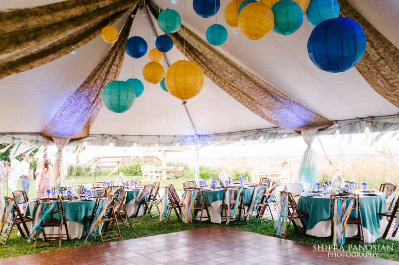 Eclectic Beach Wedding